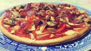 Pizza de Espelta y Quinoa